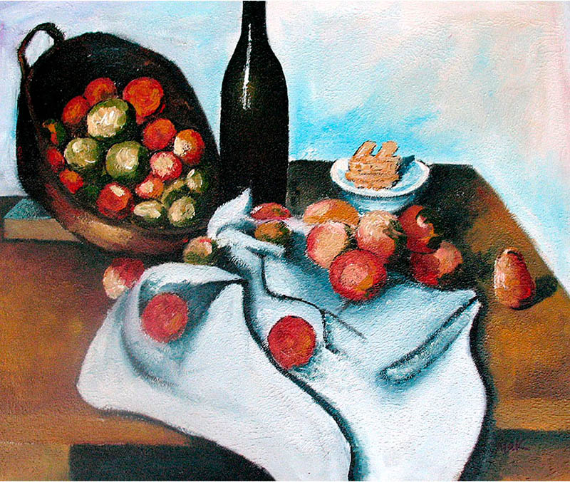 Cézanne, The Basket of Apples