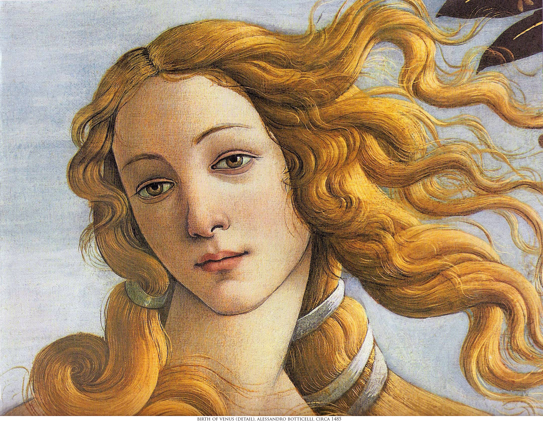 Some Masterpieces from the Public Domain: Botticelli Daystar