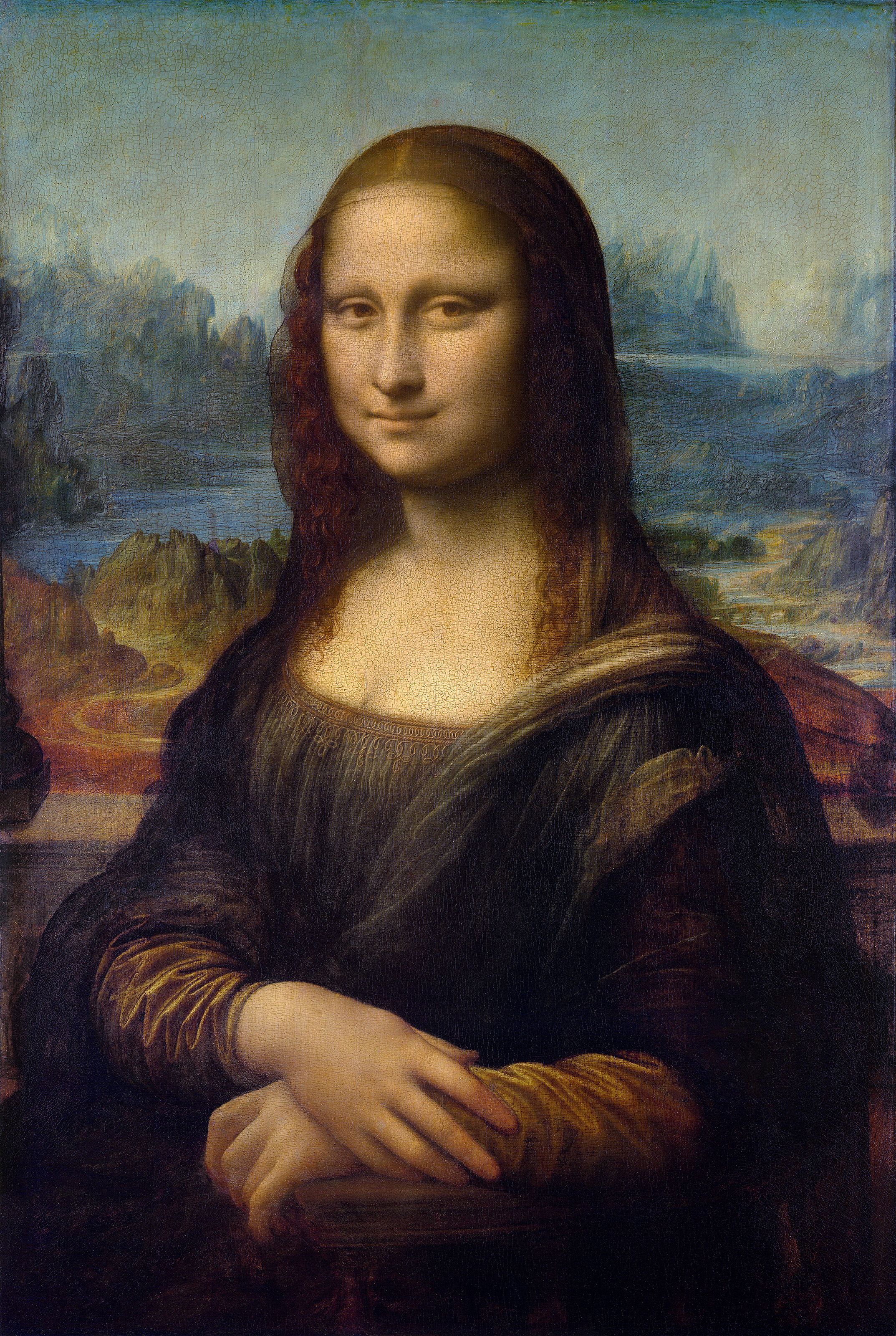 Some Masterpieces from the Public Domain, Other Painters ... Da Vinci Mona Lisa