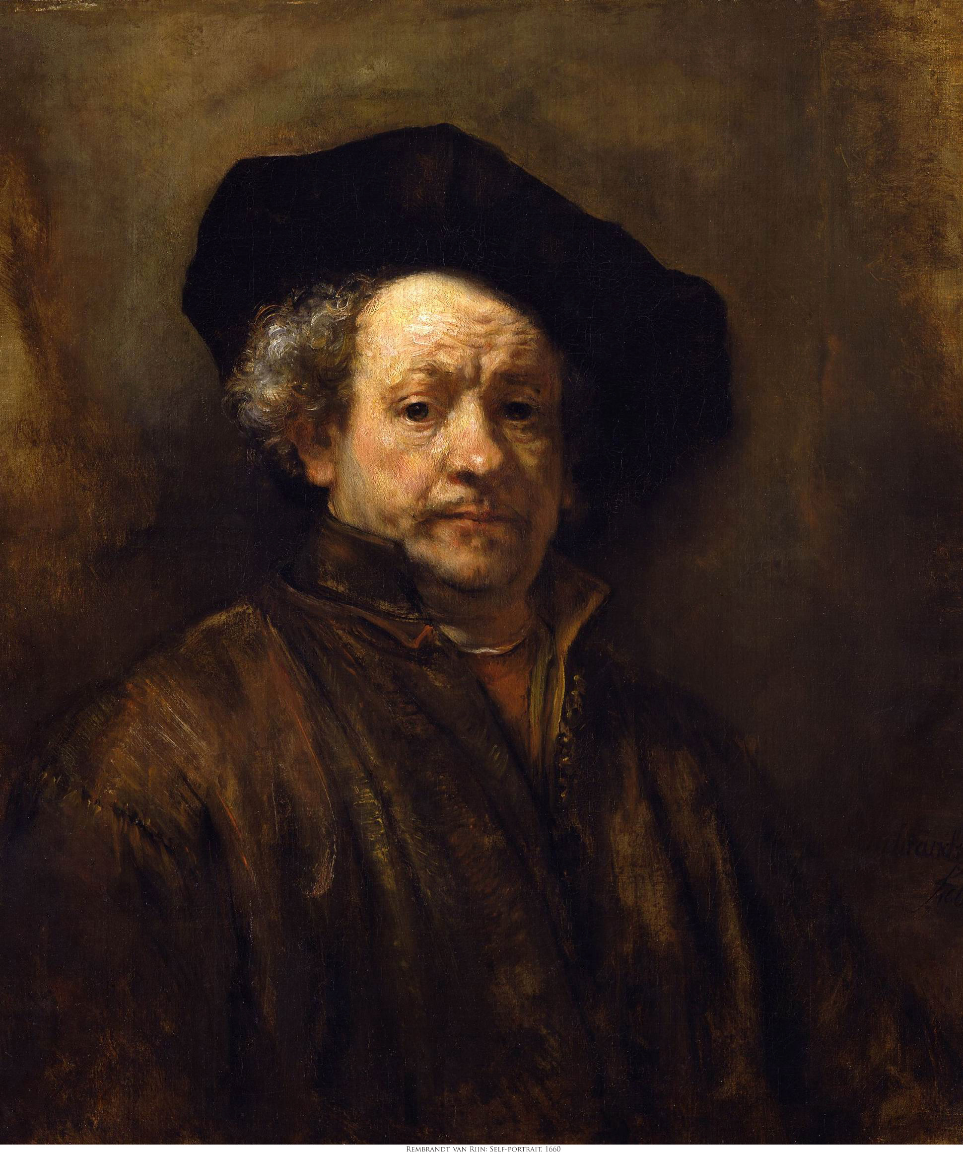 Some Masterpieces from the Public Domain, Rembrandt Daystar